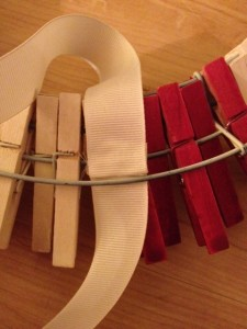 Ribbon Glued