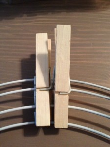 2nd clothespin
