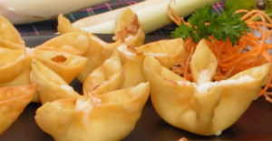 Traditional Crab Rangoon