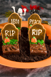 Tombstone-brownies