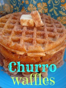 Churrowaffles