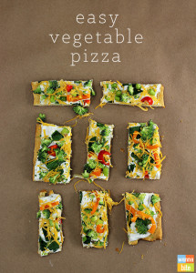 Easy-Vegetable-Pizza