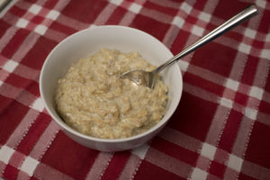 oatmeal in bowl